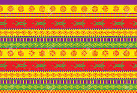 seamless vector pattern with mexican ornaments royalty free