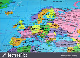 Eurpoe Map Signs And Info Europe Map Stock Image I2168504 At Featurepics