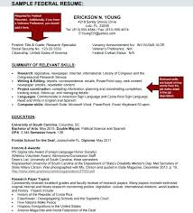 resume exles for government federal resume template doc sle federal government resume