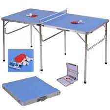 Foldable Ping Pong Table Table Tennis Tables Ebay