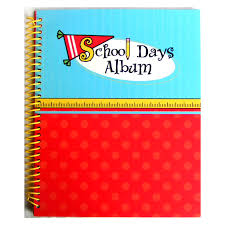 school photo album school memories memory keeper keepsake album ruler p20710 the