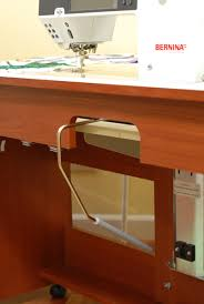 Corner Sewing Table by Bertha Cabinet Arrow Sewing Cabinets