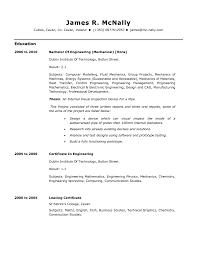 Sample Resume For Mechanical Engineers by Mechanical Engineering Technician Resume Sample Resume For Your