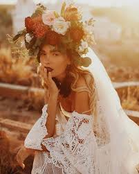 flower headpiece 31 flower crown hairstyles for your wedding brides