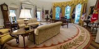 White House Interior Pictures Photos White House Oval Office Renovated Business Insider
