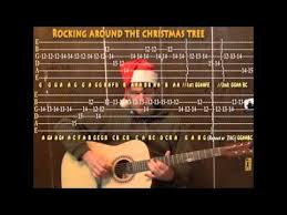 rocking around the christmas tree christmas lead guitar cover