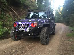 purple jeep purple digital camo jeep wrangler