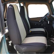 custom jeep seats innocessories neoprene custom fit seat covers