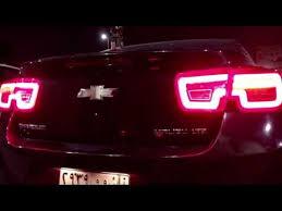chevy malibu tail lights rear led lights for 2013 chevy malibu youtube