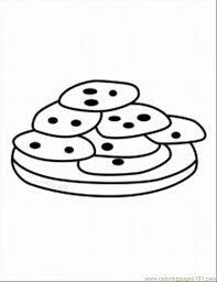 Cookie Coloring Pages Printable 509509 Coloring Cookies