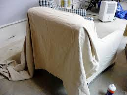 Dining Room Chair Covers With Arms How To Make Arm Chair Slipcovers For Less Than 30 How Tos Diy