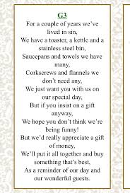 wedding gift honeymoon fund how to ask for money for wedding best 25 wedding gift poem ideas
