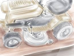 how to maintain a mtd yard machine garden tractor mower deck