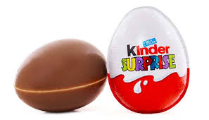 egg kinder 3 year chokes to on kinder egg wastes no