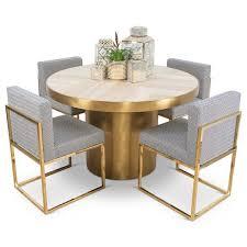 Round Dinette Table Modern Dining Tables Slab Dining Tables Online Modshop