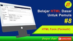 membuat ktp dengan html cara membuat form menggunakan html html dasar youtube