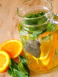 Teh Detox 6 resepi air detox untuk kuruskan badan