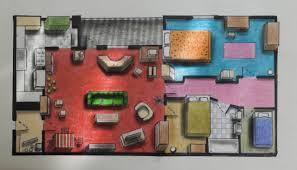 Tv Show Floor Plans by Famous Tv Floorplans Jimmy Trims Cult Barbershops