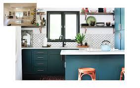 Bohemian Kitchen Design by Inside A Modern Bohemian Kitchen Remodel On A Budget Domino