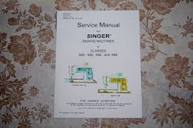 professional full edition service manual singer 640 645 646 648