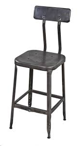 dining room best types of appealing shop stool with backrest
