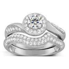 antique engagement ring settings antique designer 2 carat round diamond bridal ring set for her in