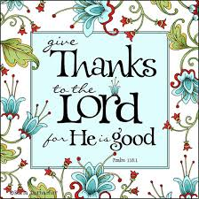 psalm 118 1 give thanks to the lord inspiration