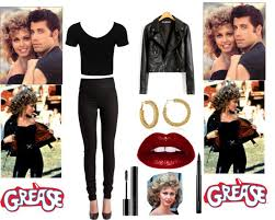 Grease Halloween Costumes Grease Couple Costumes Google Halloween Costume