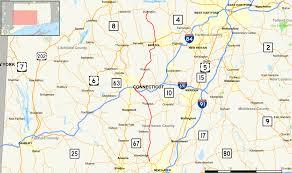 road map connecticut usa connecticut route 69