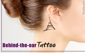 21 behind the ear tattoo ideas