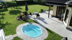 small inground pools u2013 inspiring ideas for small gardens and