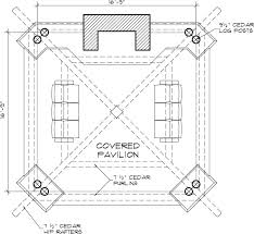 outdoor living floor plans bungalow outdoor gazebo structure backyard room design