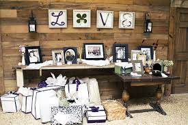 wedding gift table pictures of wedding gift tables lading for