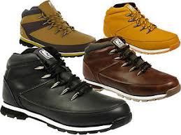 s boots uk s bartium hiking biker lace up shoes boys eyelets boots