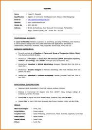 Front End Developer Resume Sample by Web Developer Resume Is Needed When Someone Want To Apply A Job As