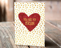 valintine cards s day cards etsy