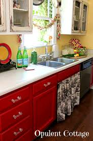 bathroom pleasing red kitchen cabinets pictures ideas tips from