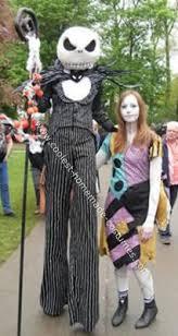 Jack Skellington Halloween Costume Nightmare Christmas Sally Ragdoll Dress Handmade Custom