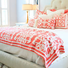 Coral Bedrooms Rice Denmark Colour Pops For The Home Colourful Vintage Decor