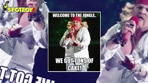 Axl Rose Meme - axl rose takes on google and memes youtube