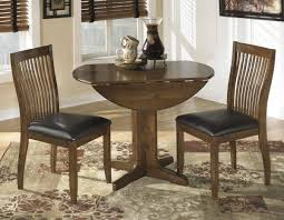 dining tables round pedestal dining table with leaf small