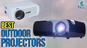 8 best outdoor projectors 2017 youtube