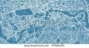 vector map vector map center uk stock vector 570601264