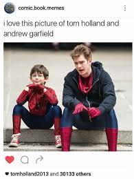 Tobey Maguire Meme - tom vs tobey vs andrew 15 hilariously danktacular spider memes