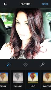 coke blowout hairstyle cherry coke hair colour for fall hair makeup and nails