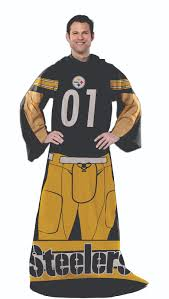 pittsburgh steelers nfl wearable comfy blanket by the northwest at pittsburgh steelers nfl wearable comfy blanket by the northwest at bedding com