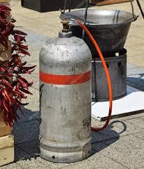 chaudron pour cuisiner conteneur à gaz et chaudron pour cuisiner en plein air