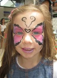 make your own face painting for kids kleenex mums