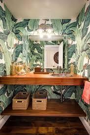 monkey wallpaper for walls tropical bathroom wallpaper 70748a89d44b630cf643d301db05f7f7