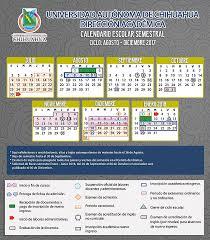 Calendario Diciembre 2018 Calendario Escolar Universidad Autónoma De Chihuahua